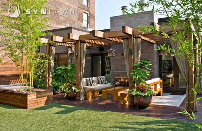 SYNLawn Residential Roofdeck