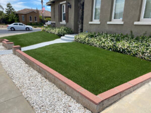 residential artificial lawn in seattle